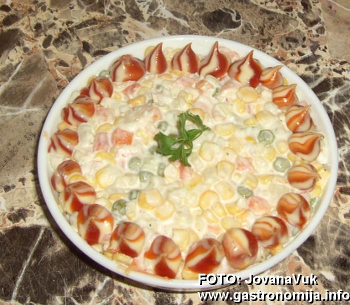 Ruska Salata Recept SA Slikom